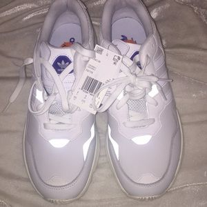 New Adidas Yung-96 Triple White Size 9.5